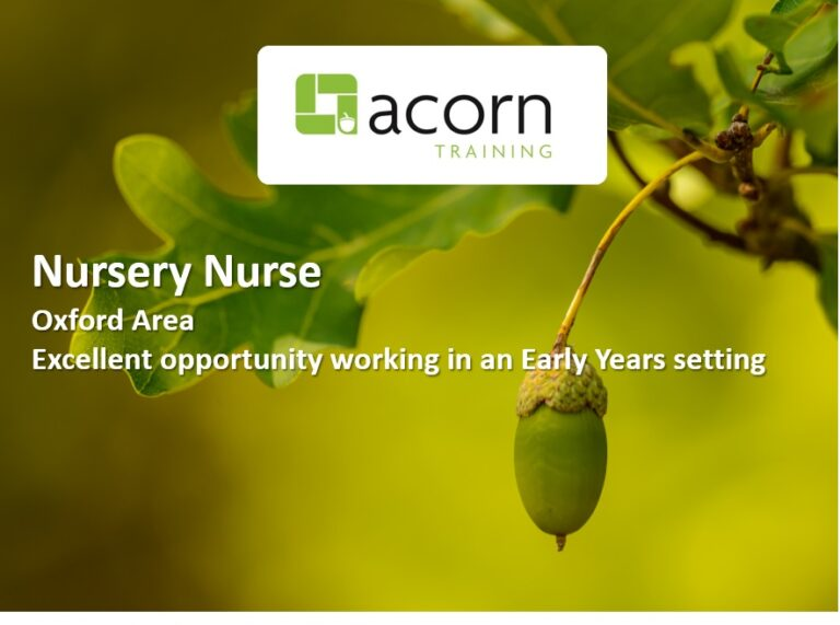 Oxford Nursery Nurse
