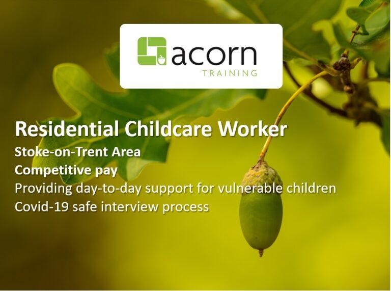 Residential Childcare - Stoke